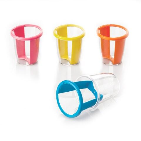 Easy Twist Reusable Shot Glass Plastic Cups