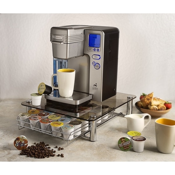 Deluxe Gl K Cup Storage Drawer Holder For Keurig Coffee Pods Holds 35 Cups Free Shipping On Orders Over 45 17444001
