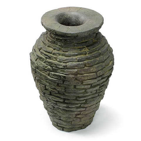 Aquascape Stacked Slate Urn Fountain Kit