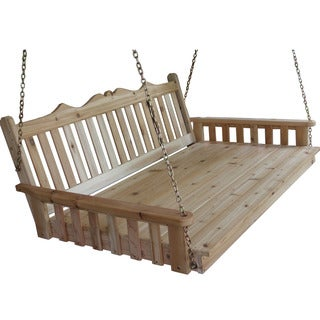 Pine Royal English Swing Bed