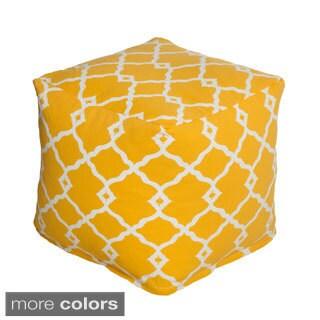 Geometric Indoor/Outdoor Beanbag Cube