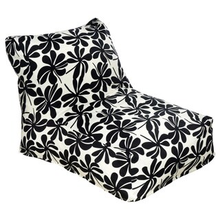 Floral Pattern Outdoor Beanbag Chair