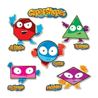 Carson-Dellosa Super Shape Bulletin Board Set - 1/PK