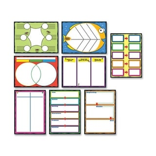 Carson-Dellosa Graphic Organizers Bulletin Board Set - 1/PK