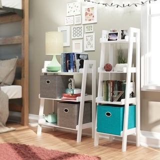 RiverRidge Kids Tiered Ladder Shelf