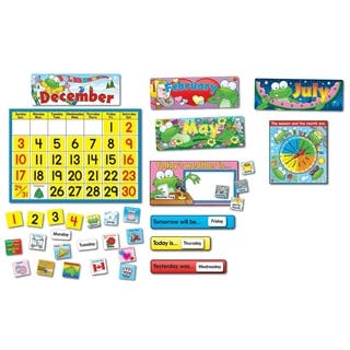 Carson-Dellosa Frog Calendar Set - 148/ST|https://ak1.ostkcdn.com/images/products/10334497/P17444691.jpg?impolicy=medium