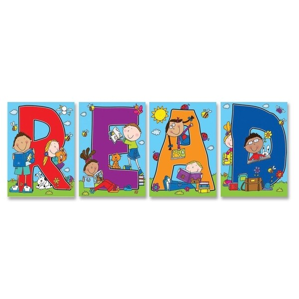 Classroom Decor Sets ~ Carson dellosa read bulletin board decoration set pk