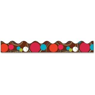 Bordette Dots Bordette Decorative Border - 1/RL