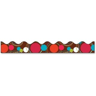 Bordette Dots Bordette Decorative Border - 1/RL