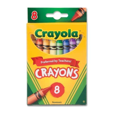 Crayola 52-3008 Crayon Set - 8/BX