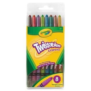 Crayola Twistable Crayola Crayon - 8/PK