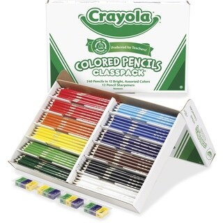 Crayola Classpack Watercolor Pencil Set - 240/ST
