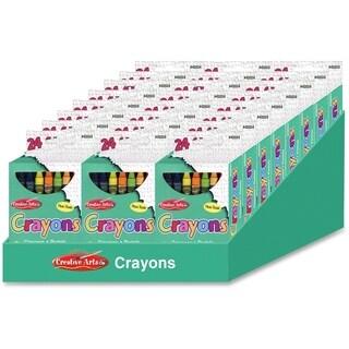 CLI Creative Arts 64 Bright Crayon Box - 24/DS