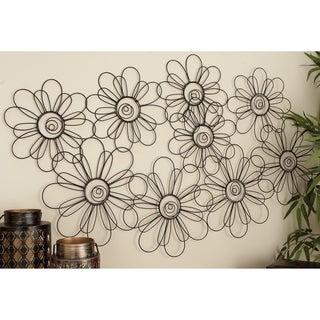 Flower Petal Montage Wall Sculpture