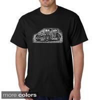 Men's Los Angeles Pop Art Mob Car T-shirt