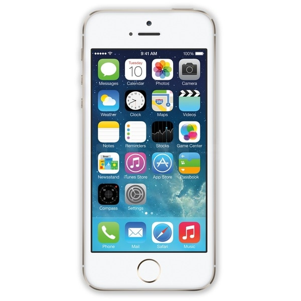 shop apple iphone 5s 16gb factory unlocked gsm certfied refurbished phone gold free shipping. Black Bedroom Furniture Sets. Home Design Ideas