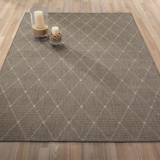 Ottomanson Jardin Collection Contemporary Trellis Design Indoor/ Outdoor Area Rug (3'1 x 5'3)