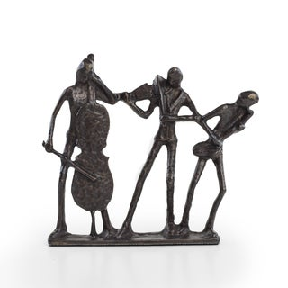 Danya B? Jazz Musician Trio Bronze Sculpture