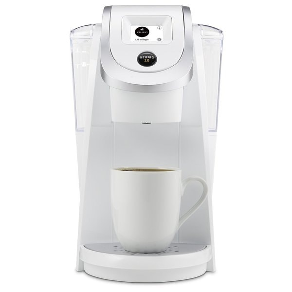 Keurig K250 2.0 Brewer - White - Free Shipping Today - Overstock.com ...