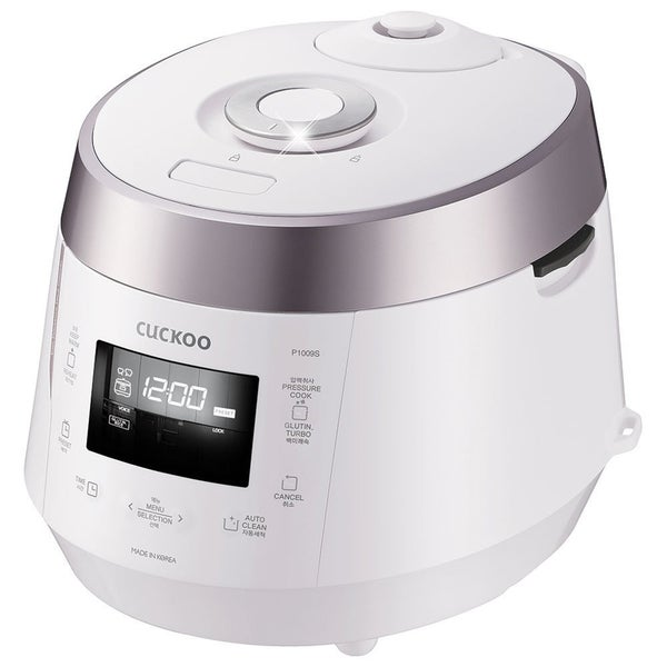 Shop Cuckoo CRP-P1009S White 10-Cup Electric Pressure Rice