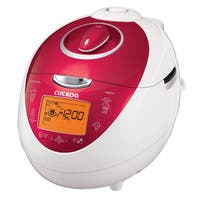 Cuckoo CRP-N0681F Red 6-cup Electric Pressure Rice Cooker