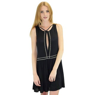 Relished Women's Napflion Black Dress