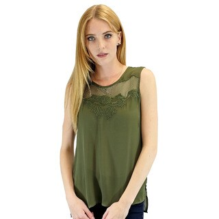 Relished Women's Olivia Embroidered Tank