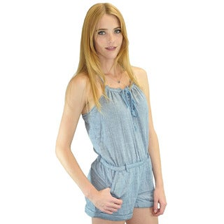 Relished Women's Marais Marche Blue Romper