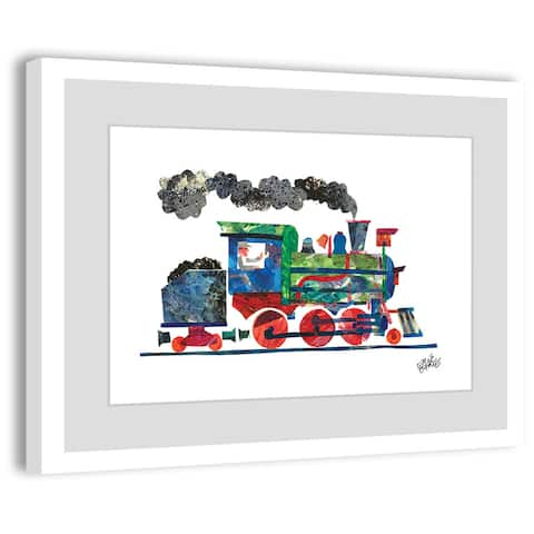 Marmont Hill - Handmade Steam Train 2 Framed Wall Art Print