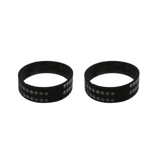 2pk Replacement Vacuum Belts, Fits Beam Rugmaster, Compatible with Part 155301-002