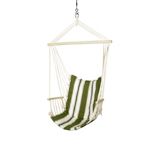 Blue Sky Outdoor Hammocks Hanging Chair with Armrests with FREE Hammock Straps