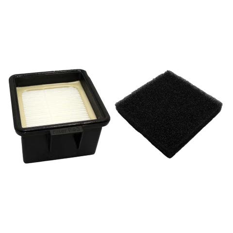 Replacement F43 HEPA Style Filter & Foam, Fits Dirt Devil, Compatible with Part 2PY1105000 & 1PY1106000