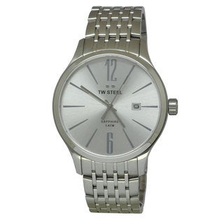 TW Steel Men's TW1307 Slim Silver Watch
