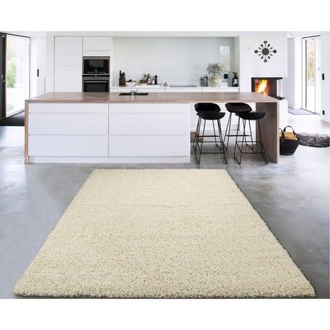 Sweet Home Stores Cozy Shag Collection Solid Shag Rug (8' x 10')
