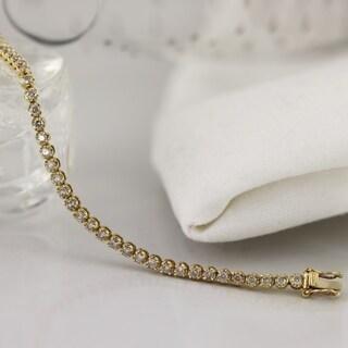 14k Gold 2ct TDW Diamond Tennis Bracelet|https://ak1.ostkcdn.com/images/products/10335655/P17445713.jpg?_ostk_perf_=percv&impolicy=medium