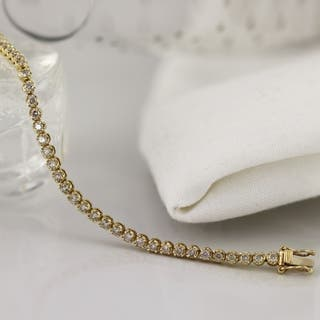 14k Gold 2ct TDW Diamond Tennis Bracelet https://ak1.ostkcdn.com/images/products/10335655/P17445713.jpg?impolicy=medium