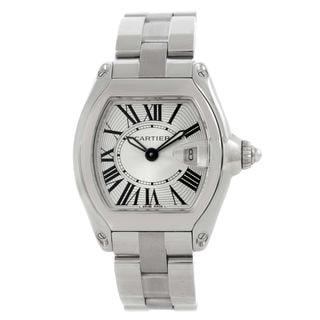 Cartier Women's W62016V3 'Roadster' Stainless Steel Watch