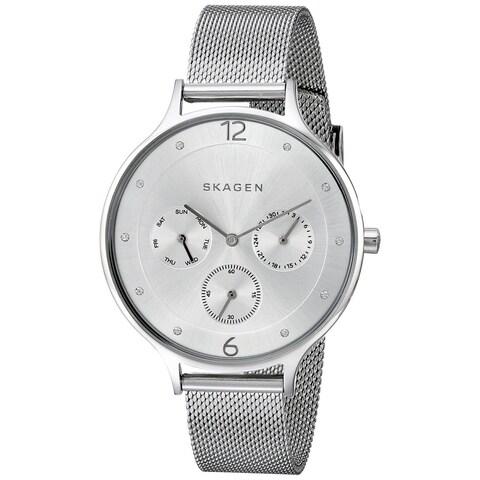 Skagen Women's SKW2312 'Anita' Chronograph Crystal Stainless Steel Watch