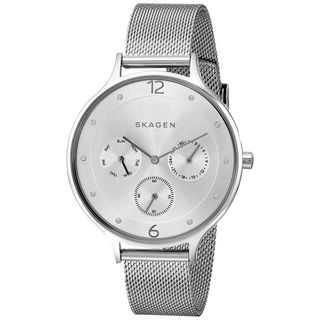 Skagen Women's SKW2312 'Anita' Chronograph Crystal Stainless Steel Watch