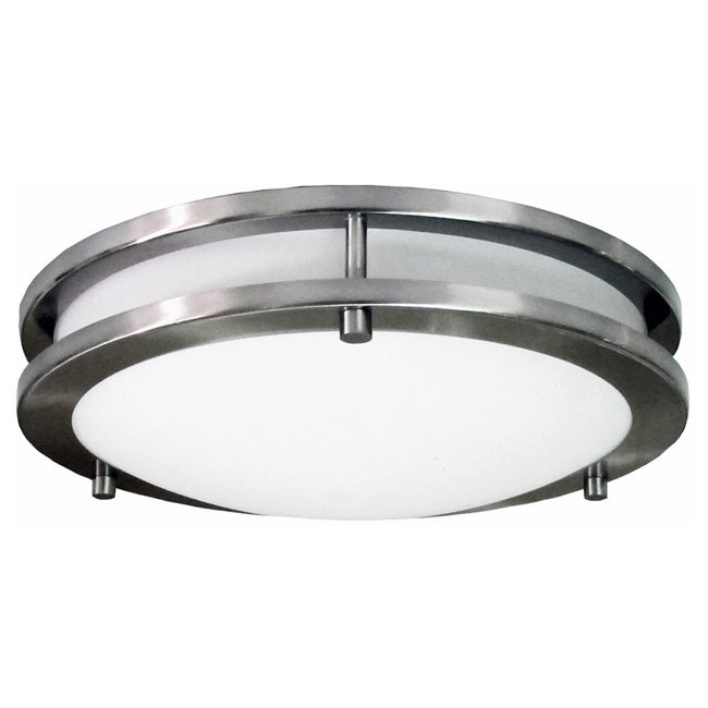 """HomeSelects Saturn 12-inch Round Surface Mount Light (12""""..."""