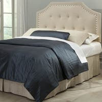 Fashion Bed Group Avignon Upholstered Adjustable Headboard in Natural