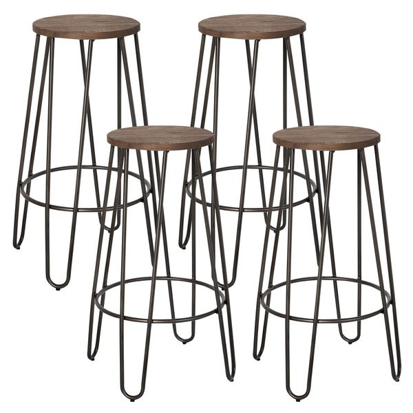 Revo 26-inch Counter Stool (Set of 4). Opens flyout.