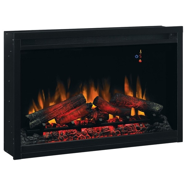 Shop ClassicFlame 36EB220-GRT 36-inch Traditional Built-in ...