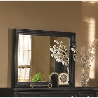 Framed Torreon Mirror - Black