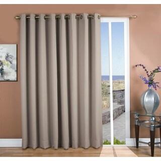 Ultimate Blackout Grommet Top Patio Curtain Panel