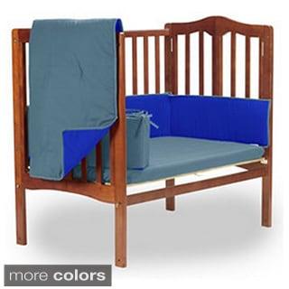 Reversible Mini Crib Bedding Set