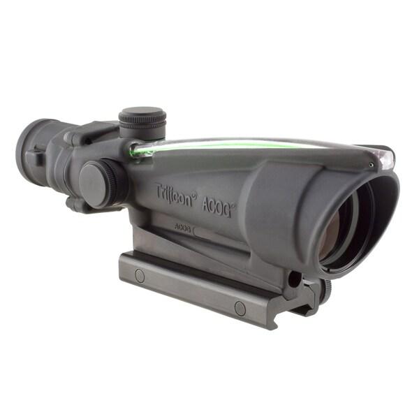 Trijicon ACOG 3.5x35 Dual Illuminated Green Horse Shoe Dot 223 Ballistic