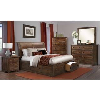 Picket House Furnishings Danner Storage 5PC Bedroom Set. Storage Bed  Rustic Bedroom Furniture For Less   Overstock com