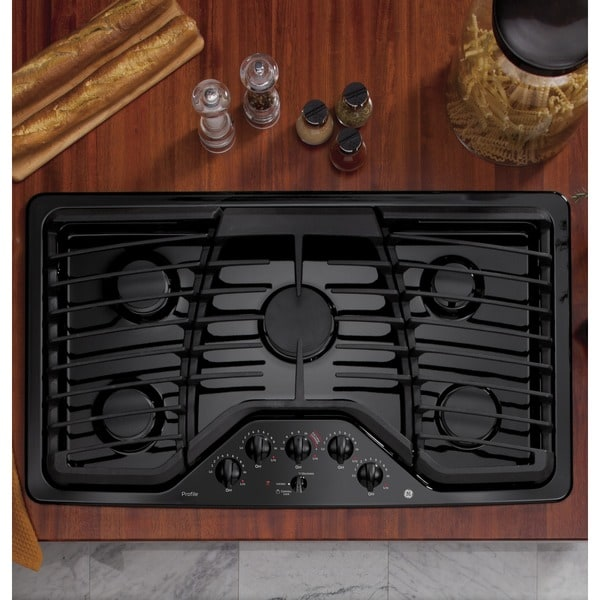 Shop Ge Profile Series 36 Inch Built In Gas Cooktop Free Shipping Today Overstock Com 10336072
