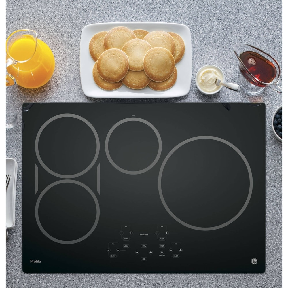 GE  Profile Series 30-inch Built-in Touch Control Induction Cooktop (black)